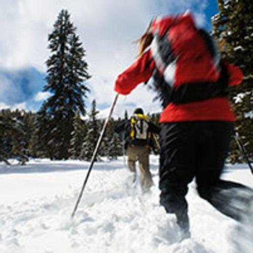 Kurzurlaub mit Schneeschuhwanderung in Tirol fuer 2