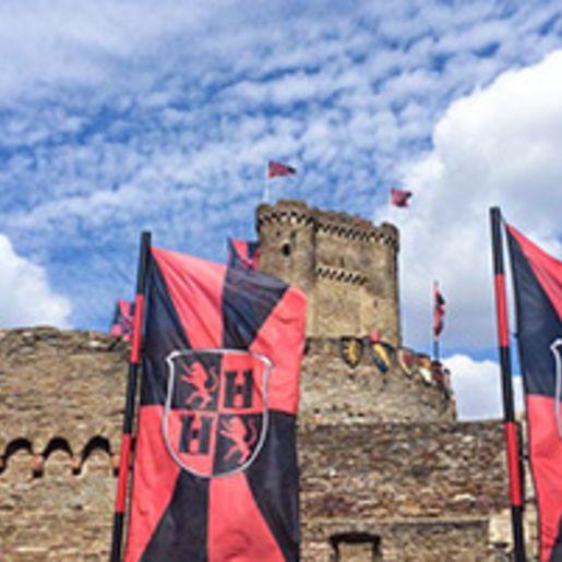Mosel-Kurzurlaub auf der Burg fuer 2