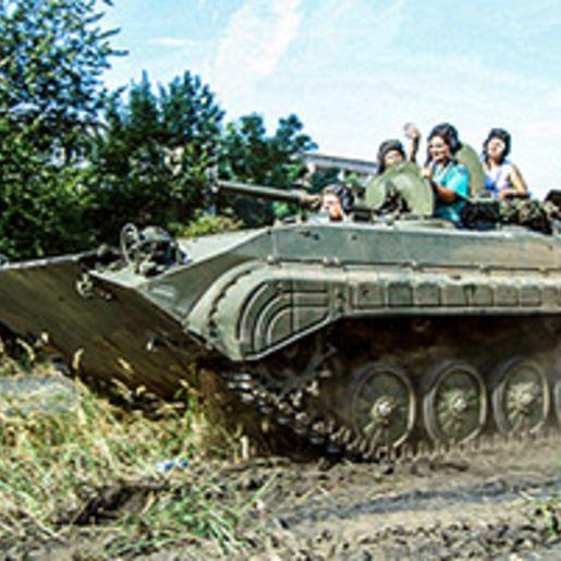 Schuetzenpanzer selber fahren (30 Min.)