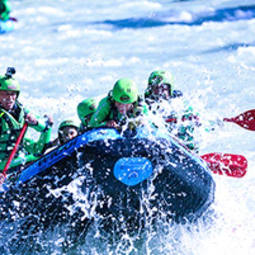 Rafting-Tour Imster Schlucht mit Uebernachtung in Tirol