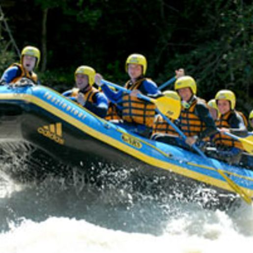 Rafting in Tirol (Inntal)