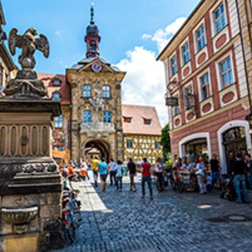 Staedtetrip Bamberg mit Bier Tour fuer 2 (2 Tage)