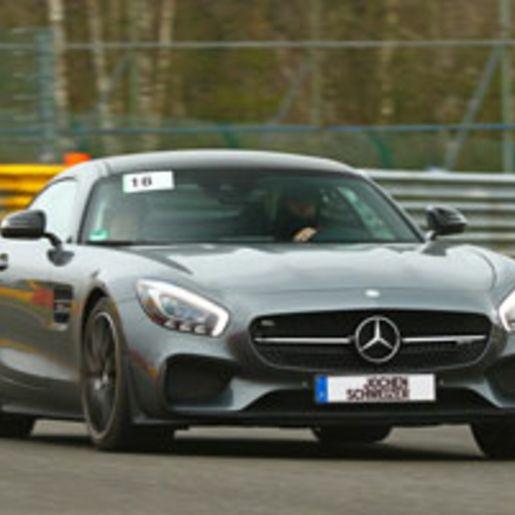 Mercedes AMG GT-S Renntaxi am Lausitzring