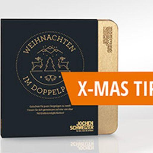 Erlebnis-Box 'Weihnachten im Doppelpack'