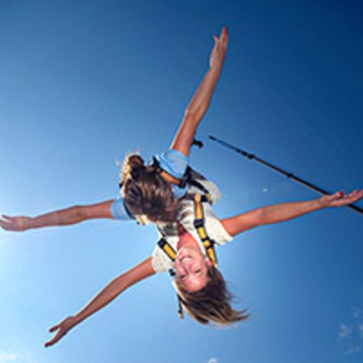 Tandem Bungee Jumping in Duisburg fuer 2