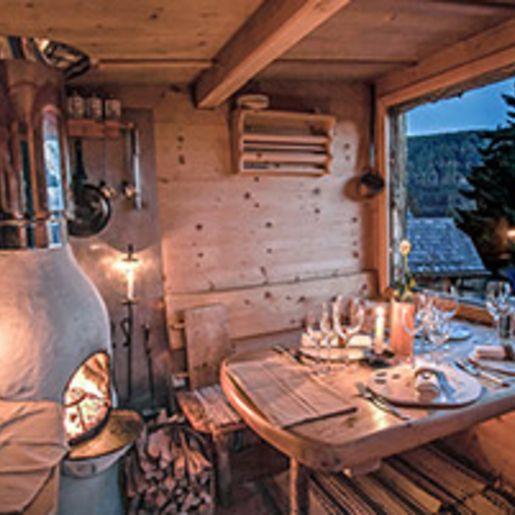 Luxus Huetten-Dinner mit Privat-Koch in Kaernten fuer 2