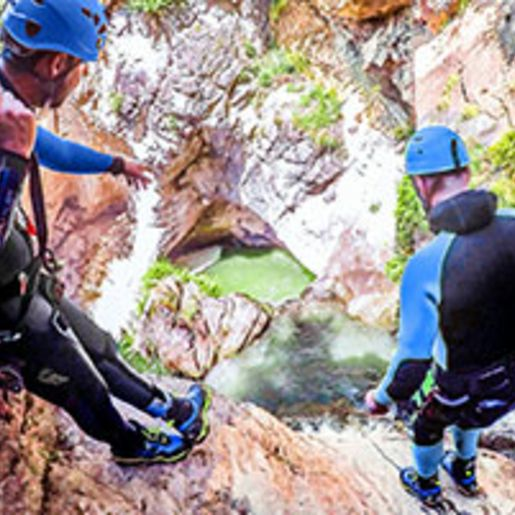 Rafting- & Canyoning-Tag in Tirol