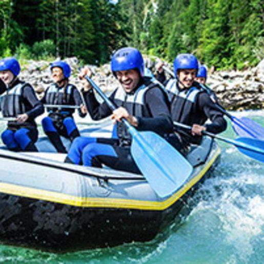 Rafting & Canyoning mit 2 Uebernachtungen im Oetztal