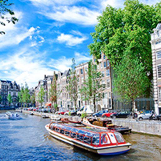 Kurzreise Amsterdam mit Rijksmuseum und Bootsrundfahrt fuer 2 (3 Tage)