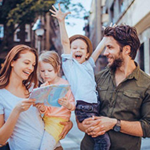 Familien Staedteurlaub in Europa