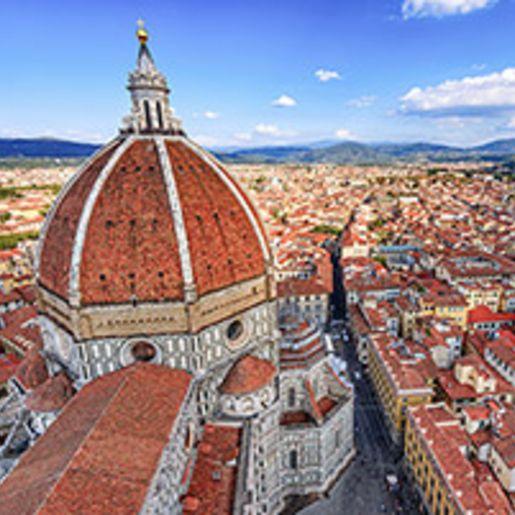 Kurzurlaub Florenz mit Kathedrale und Kuppel fuer 2 (3 Tage)