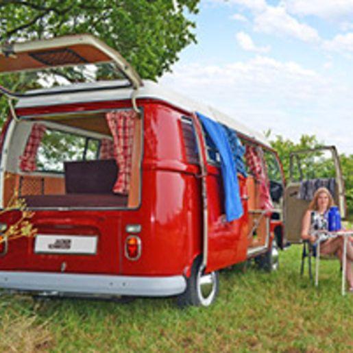 VW Bulli-Tour mit Uebernachtung an der Ostsee