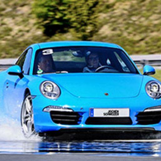Porsche Fahr-Training am Limit