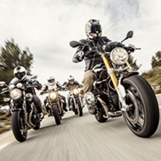 Motorrad-Sicherheitstraining auf der Strasse