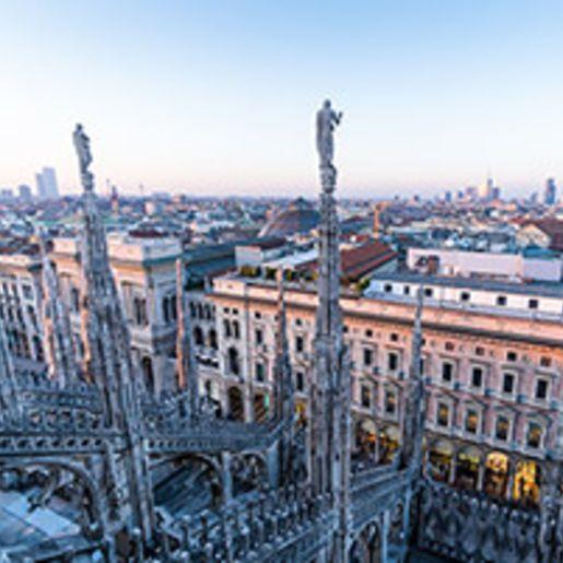Romantischer Staedtetrip in Mailand fuer 2
