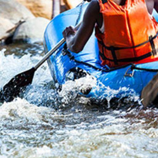 Rafting & Canyoning-Tour in Koessen