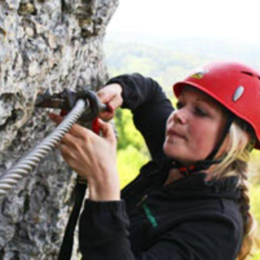 Klettersteig fuer Einsteiger