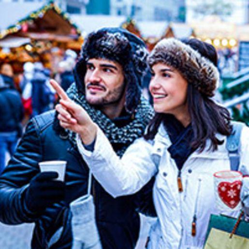 Weihnachtsmarkt Kurztrip in Duesseldorf fuer 2