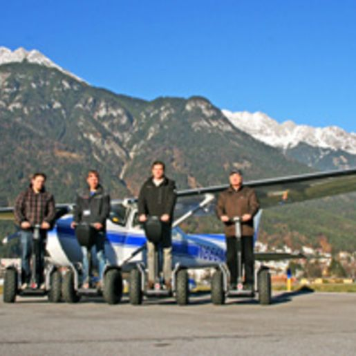 Alpenrundflug & Segway-Tour bei Innsbruck