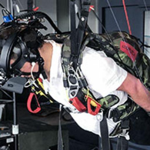 Fallschirmspringen in der Virtual Reality