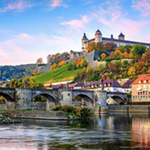 Staedtereise Wuerzburg mit Sightseeing fuer 2 (2 Tage)