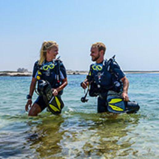 Tauchurlaub mit PADI Open Water-Tauchkurs im Oman fuer 2