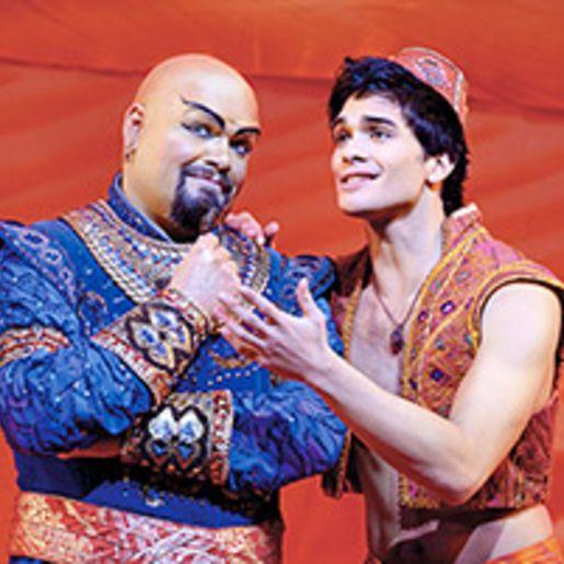 Musical Aladdin & Dinner Stuttgart fuer 2