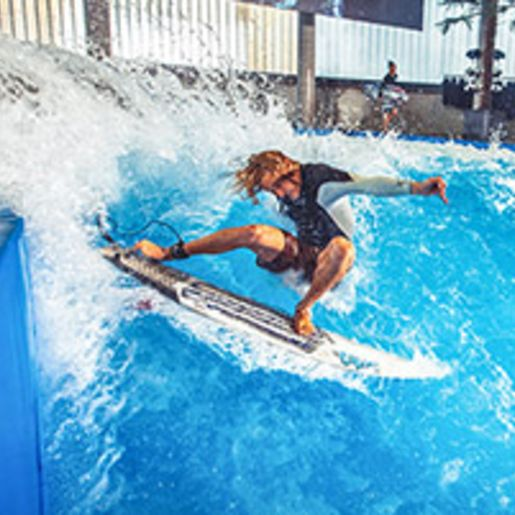 Indoor Surfen - Arena Muenchen