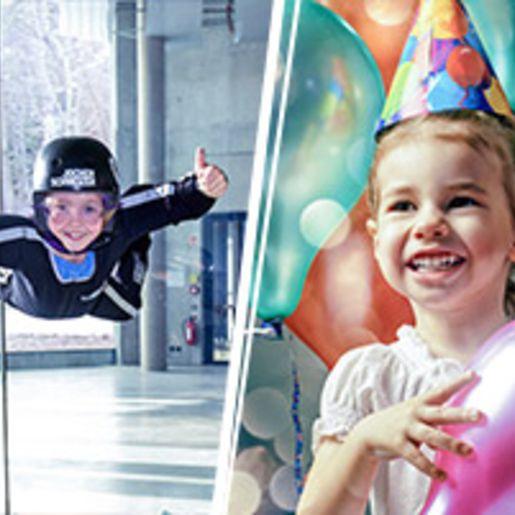 Bodyflying Kindergeburtstag - Arena Muenchen