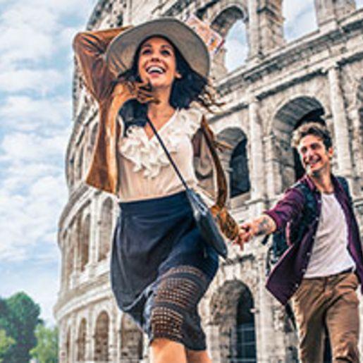 Romantik-Kurzurlaub in Rom fuer 2