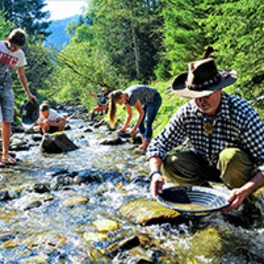 Goldrausch in den steirischen Bergen mit Uebernachtung