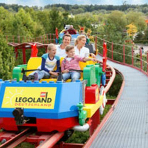 Kurztrip Legoland Guenzburg fuer 3 (2 Tage)