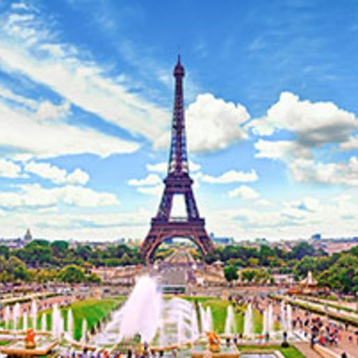 Staedtetrip Paris mit Tickets zur Spitze des Eiffelturms fuer 2 (3 Tage)