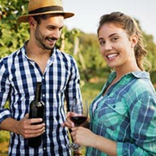 Weinverkostung mit Uebernachtung in Rheinhessen fuer 2