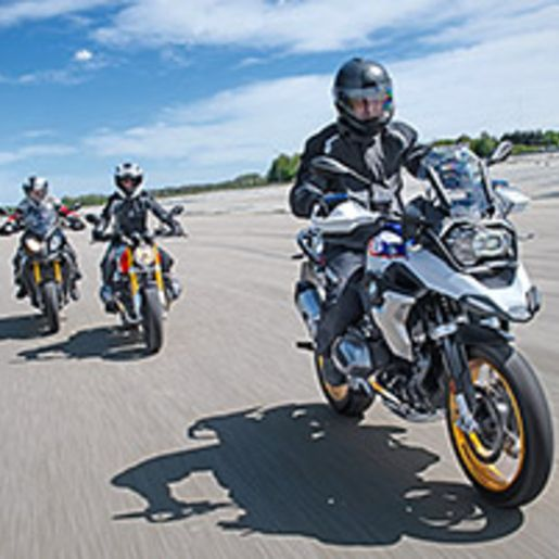 BMW Motorrad Training fuer Fortgeschrittene bei Muenchen