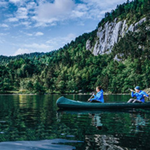Abenteuer-Huettenurlaub in Norwegen fuer 2