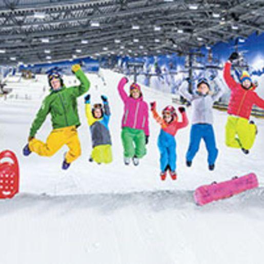 Ski- & Snowboard-Kurs in der Skihalle Neuss