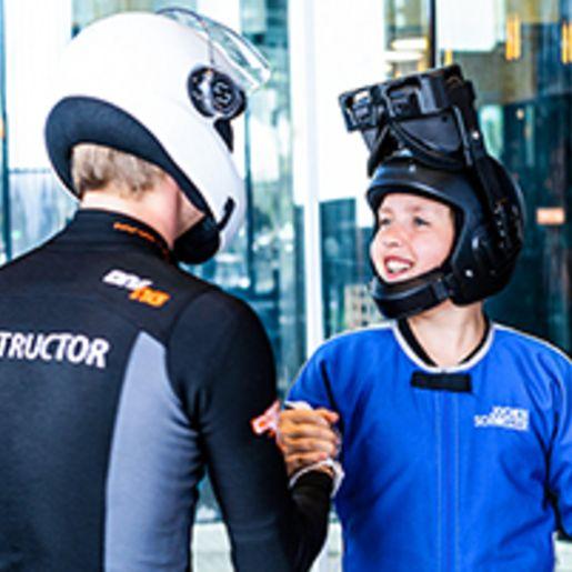 VR Bodyflying Weltraum fuer Kinder in Taufkirchen