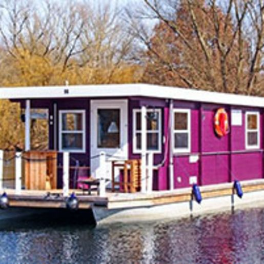 Hausboot-Kurzurlaub fuer 4