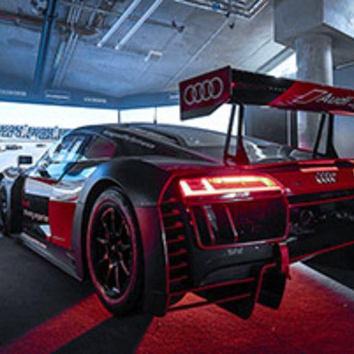Audi R8 LMS Rennsimulator in Berlin (60 Min.)