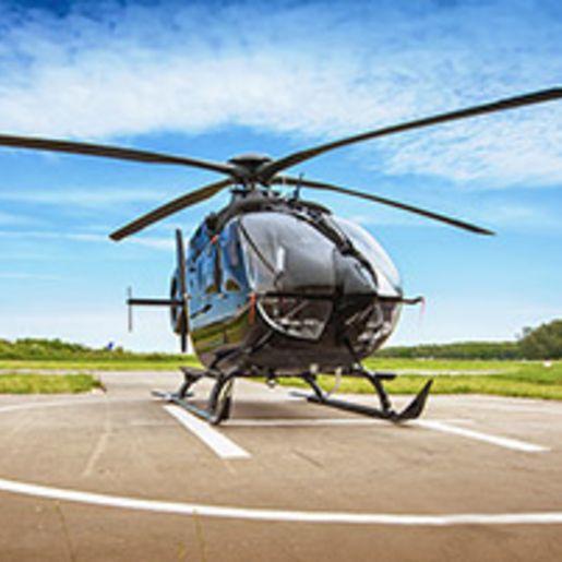 Hubschrauber fliegen in Oesterreich