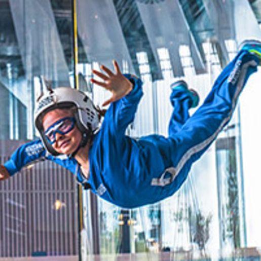 Bodyflying fuer Kinder (4 Min.) - Arena Muenchen