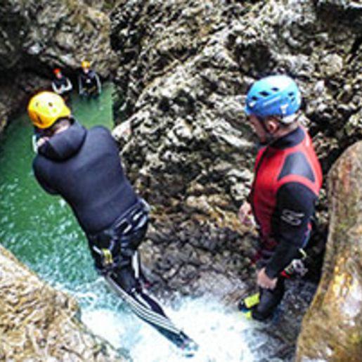 Canyoning Einsteigertour am Achensee