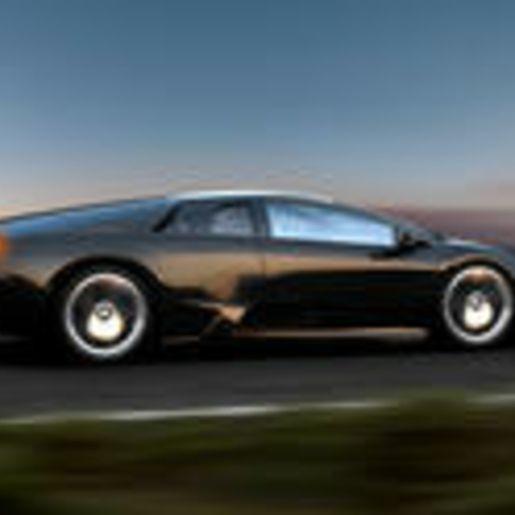 Lamborghini fahren Rennstrecke
