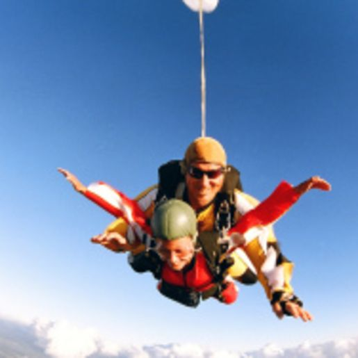 Fallschirmspringen Tandem