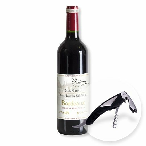 Mein eigener Bordeaux (1x0,75l) und Kellnermesser