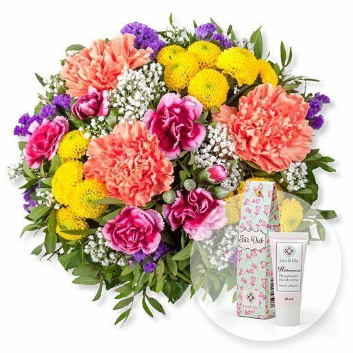 Lieber Gruß und Blütenrausch Pfingstrosen-Handcreme Für Dich