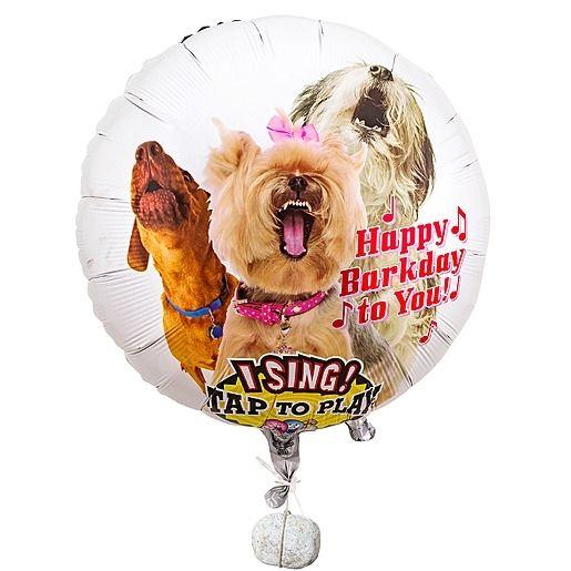 Singender Ballon - Tierische Geburtstagsgrüße Dogs