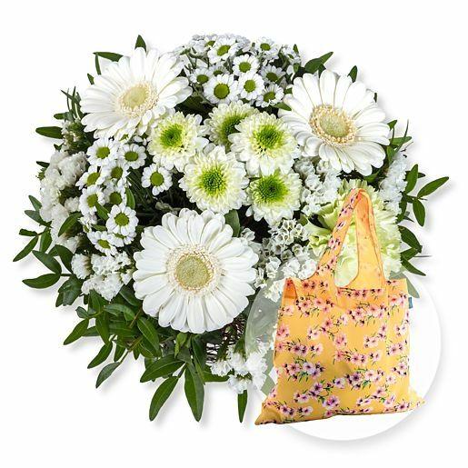 Petit Blanc und Easy Bag Blüten gelb