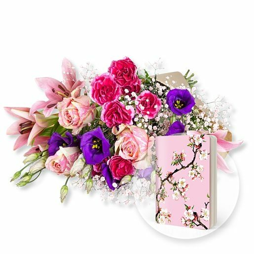 Sweet Dreams und Heft Kirschblüte